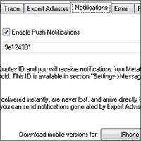 MT4 Push Notification Setup