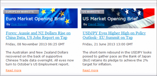 Forex trading news websites