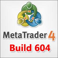 mt4 build 604