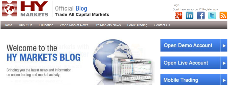Forex blog sites