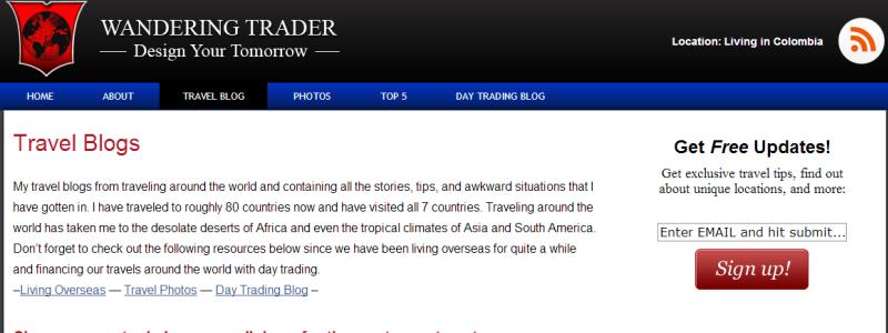 wanderingtrader.com