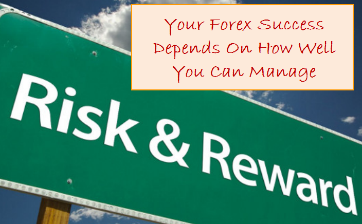 your forex success depends on how well you can manage risk and reward