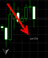 MT4 Expert Advisor prints label with error code on the chart