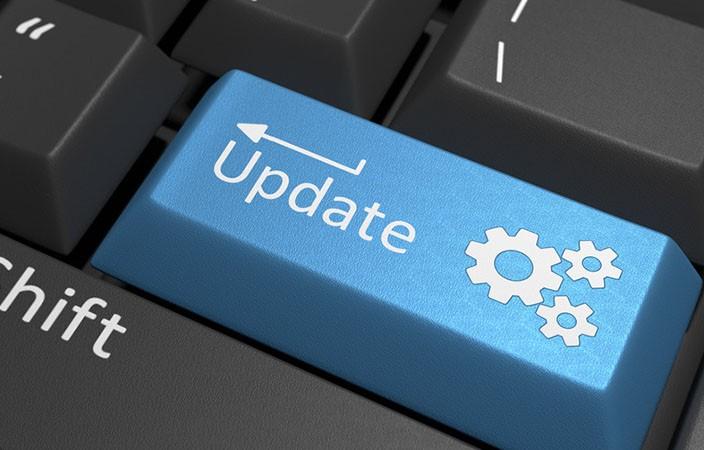 Software Update Key on Keyboard