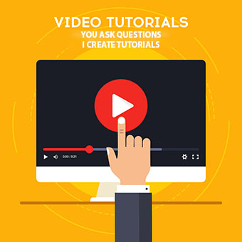 Video tutorials concept 340x340