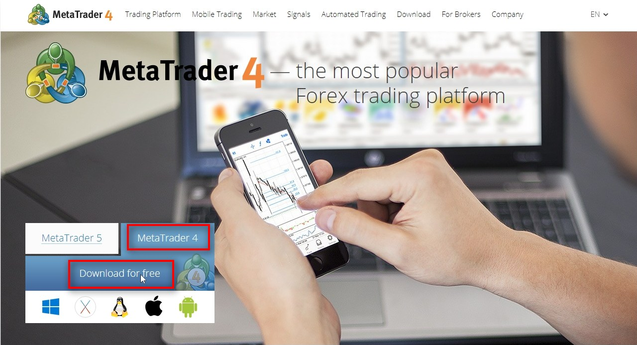 MT4 download from official website actually defaults to MT5 If you navigate to the official MetaTrader 4 website and try to download MT4 you'll see that it actually downloads the MT5 version. You cannot download MetaTrader 4 from the official website anymore.