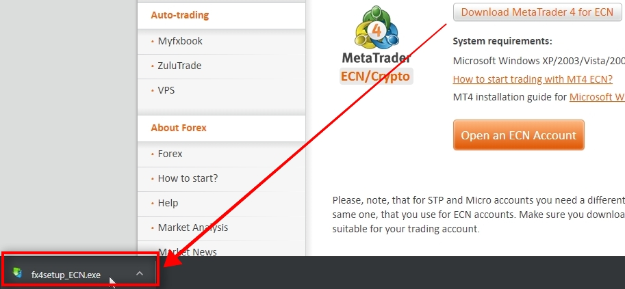 How To Download MT4 & Open Forex Demo Account Without Broker