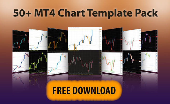 Click here to subscribe to my newsletter and download 50+ MT4 Chart Templates Pack for free.